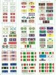 Miscellaneous Flag Sets #2 (All sizes)