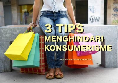 3 Tips Menghindari Konsumerisme