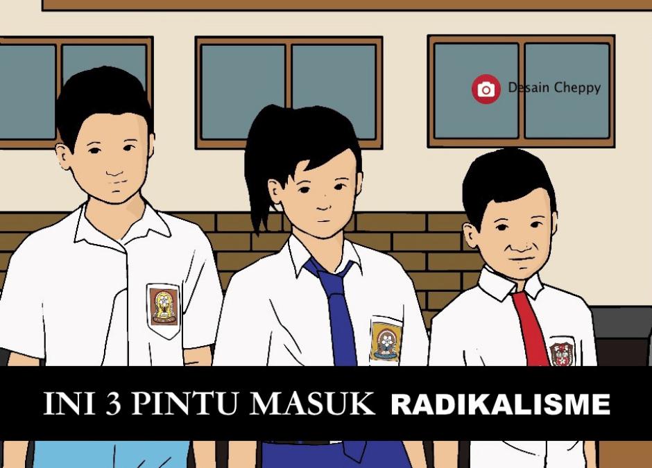 3 Pintu Masuk Radikalisme Di Institusi Pendidikan