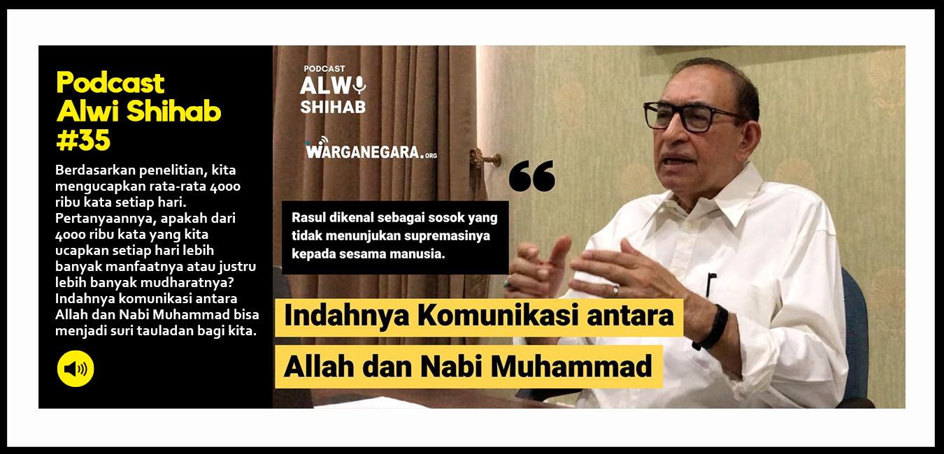 Indahnya komunikasi antara Allah dan Nabi Muhammad