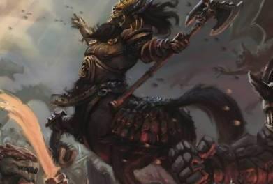 Edge of the Abyss historias en el mundo de Kings of War, juego de miniaturas