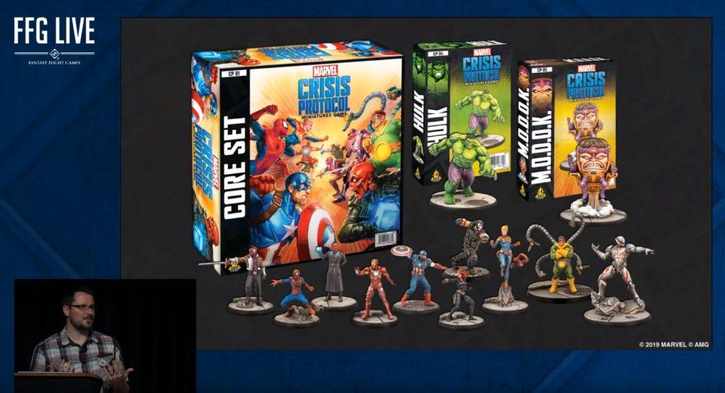 Marvel Crisis Protocol nuevo juego de miniaturas sobre Marvel Comics de Atomic Mass Games