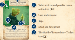 Dale of Merchants Card example