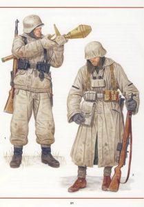 Tropas alemanas con equipo