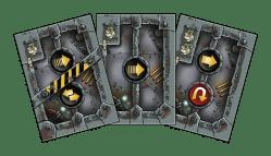 Scrappers, cartas de acción