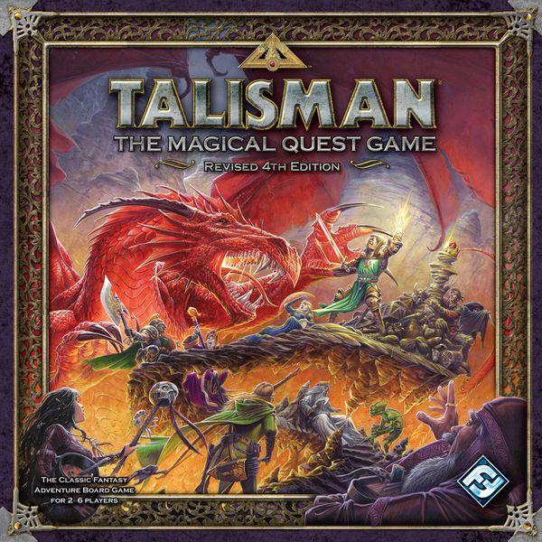 Talismán un juego de fantasía, considerado ya un clásico, propiedad de Games Workshop