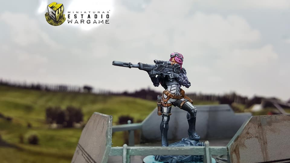 Infinity Operation Coldfront Aleph OperationS Nagas Sniper by Miniaturas Stadio Wargame