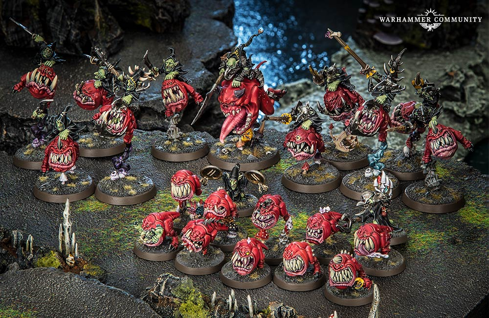 Looncurse The Heroes and Sample Armies  Warhammer Community
