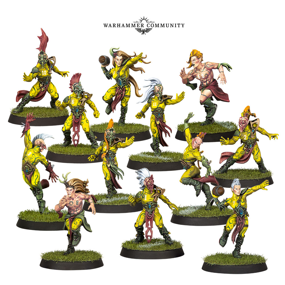 Wood Elves Blood Bowl
