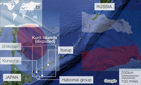 disputed islands russia and japan
