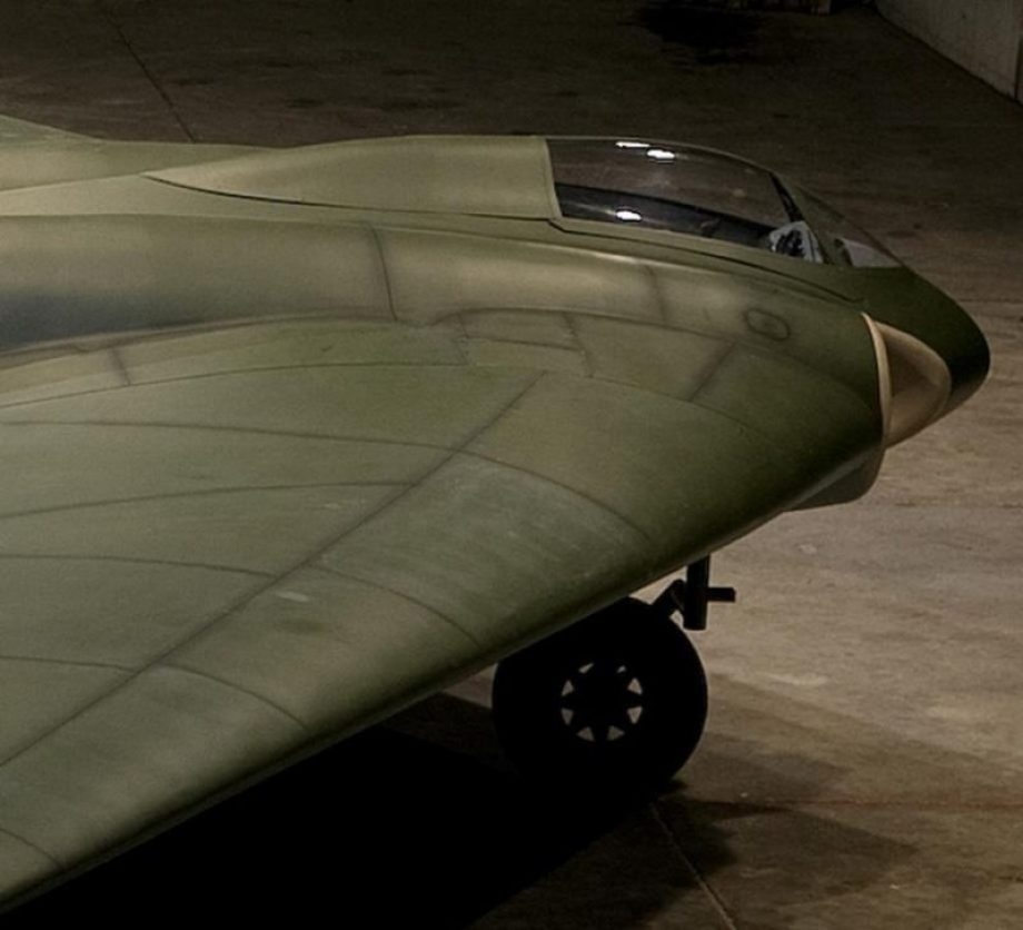 restoring-the-horten-229-v3-flying-wing-10