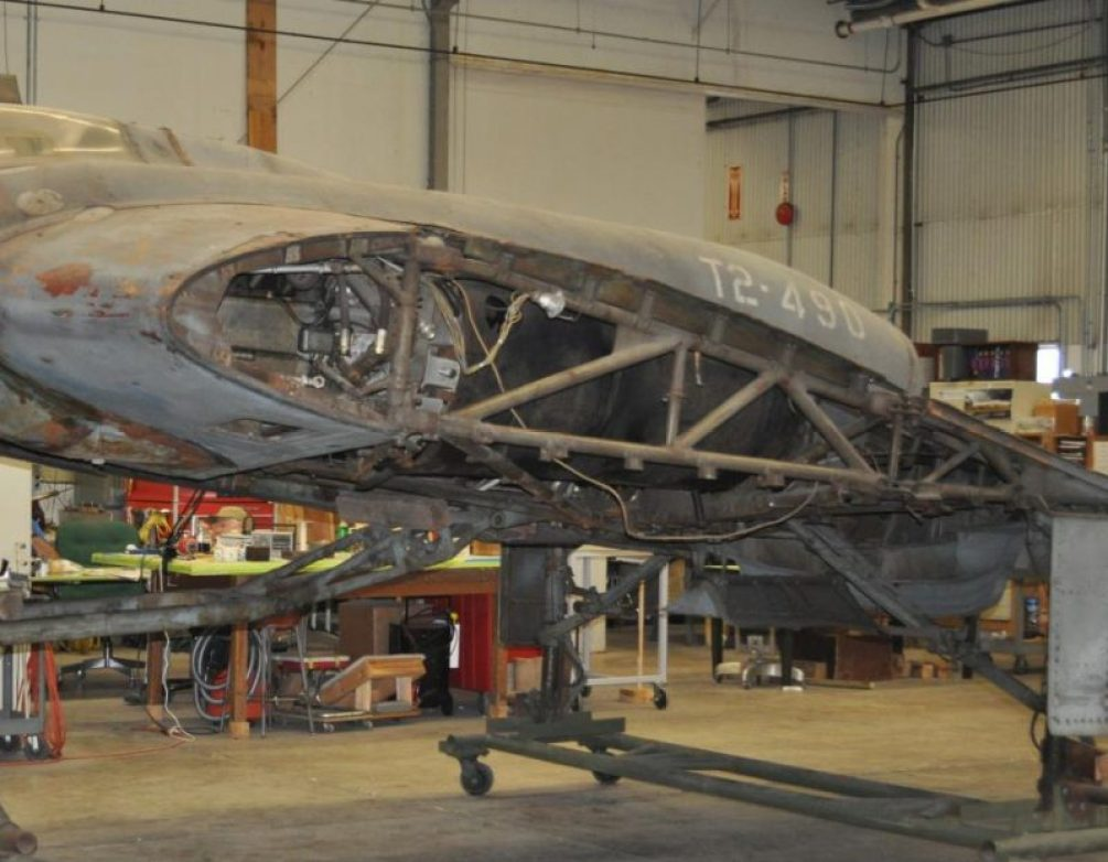 restoring-the-horten-229-v3-flying-wing-26