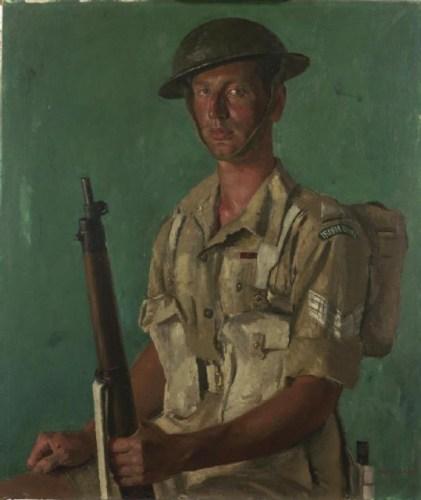 Sergeant_J_P_Kenneally,_Vc_-_1_Battalion,_Irish_Guards_Art.IWMARTLD3395