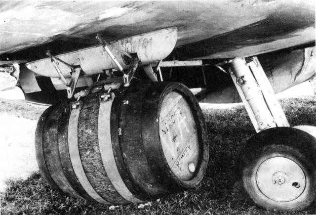 Barrel on Wing