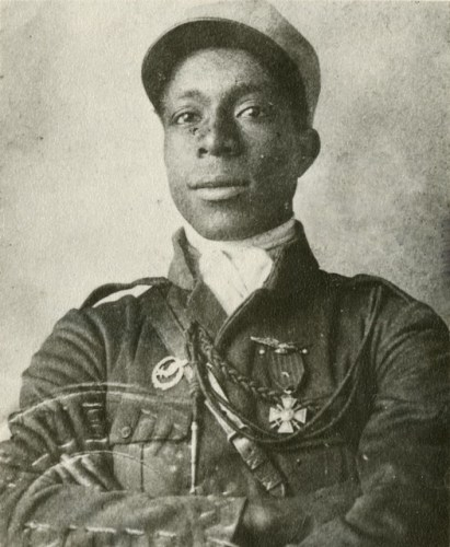Eugene Bullard in Legionnaire Uniform via commons.wikimedia.org