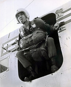 Duane Hackney preparing to jump via mlive.com
