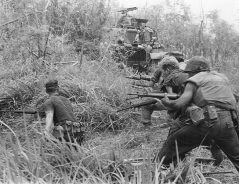 US Marines in Vietnam via commons.wikimedia.org
