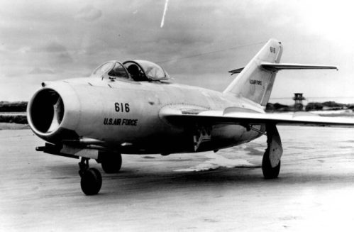MiG-15 delivered by the defecting North Korean pilot No Kum-Sok to the US Air Force.
