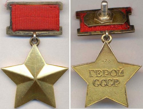 """Golden Star"" medal of the Hero of the Soviet Union Image Source: Ivan Dubasov / Public Domain"