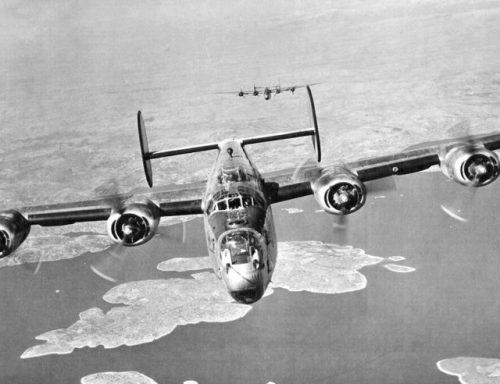 461st Bombardment Group B-24 Liberators, 1945