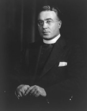Father Charles Edward Coughlin in 1933