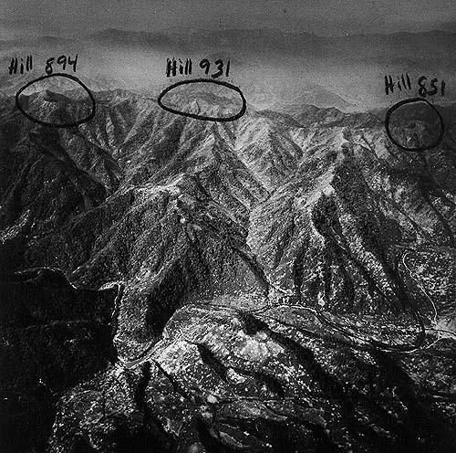Photo of Heartbreak Ridge via US Army Public Domain