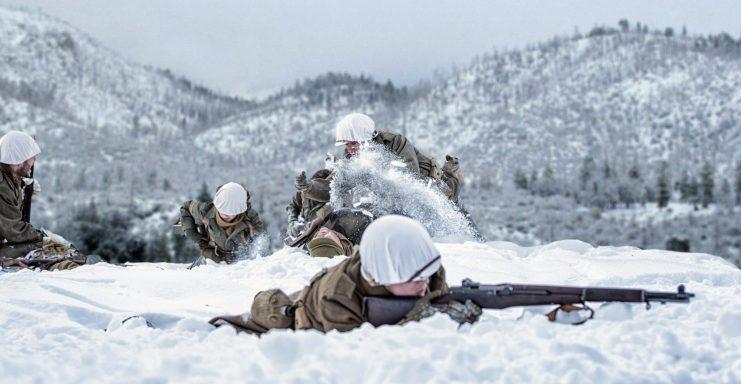The Chosin Reservoir Battle Memorable Heroics Of A