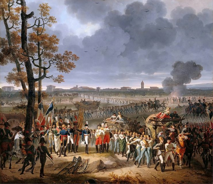 Capitulation of Mantua (2 February 1797), by Hippolyte Lecomte.