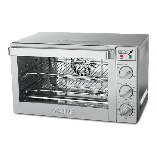 waring commercial half size convection oven