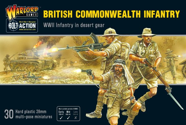 British Commonwealth Infantry - Warlord Games