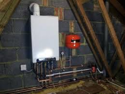 boiler in the loft