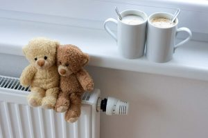 new central heating cost