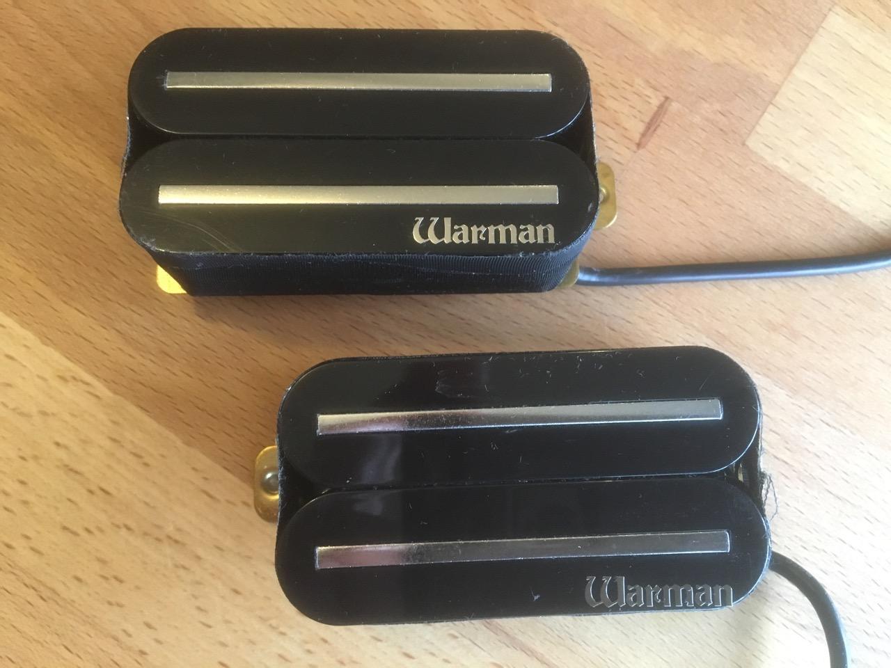 Warblades High Output Rail Humbuckers Warman Guitars Dual Hot Humbucker Neck Pickup 4 Wire For Electric Guitarin Cored Humbucking Pickups