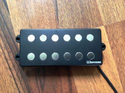 Warman Guitars MM6 6 six bass humbucker