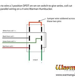 parallel wiring humbucker [ 1600 x 1200 Pixel ]