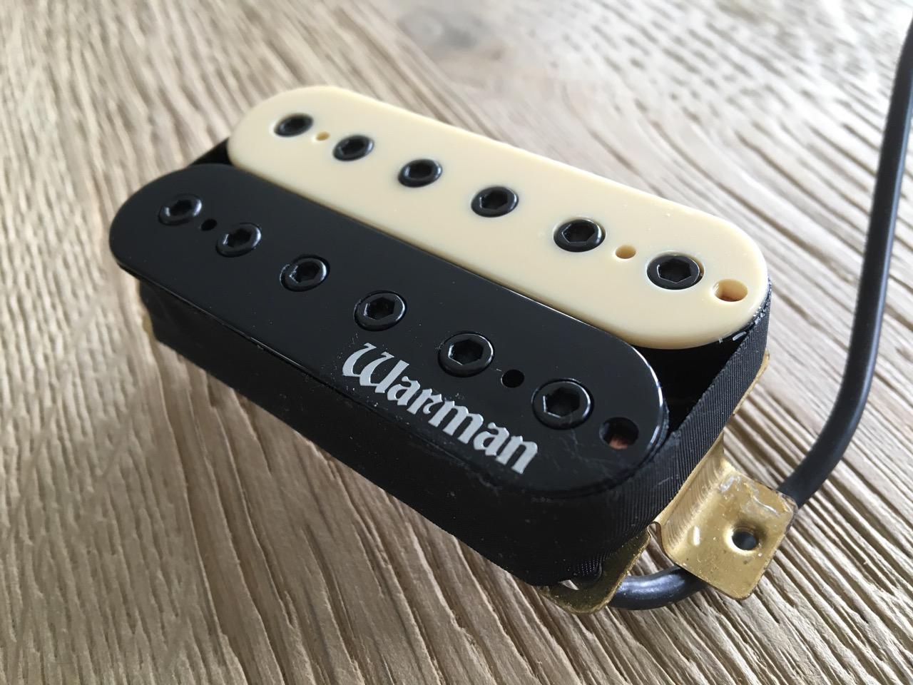 Warman Guitars Destroyer HOT 12 pole 16k Black bridge Humbucker pickup