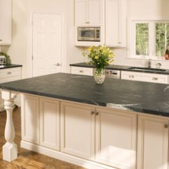 Soapstone Kitchen Travertine Backsplash Warmestein Countertops