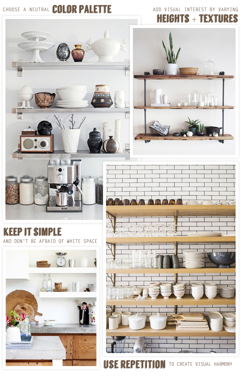 The Benefits Of Open Shelving In The Kitchen: Open Kitchen Shelving