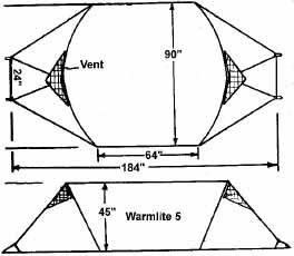 Warmlite 5-Person Tent