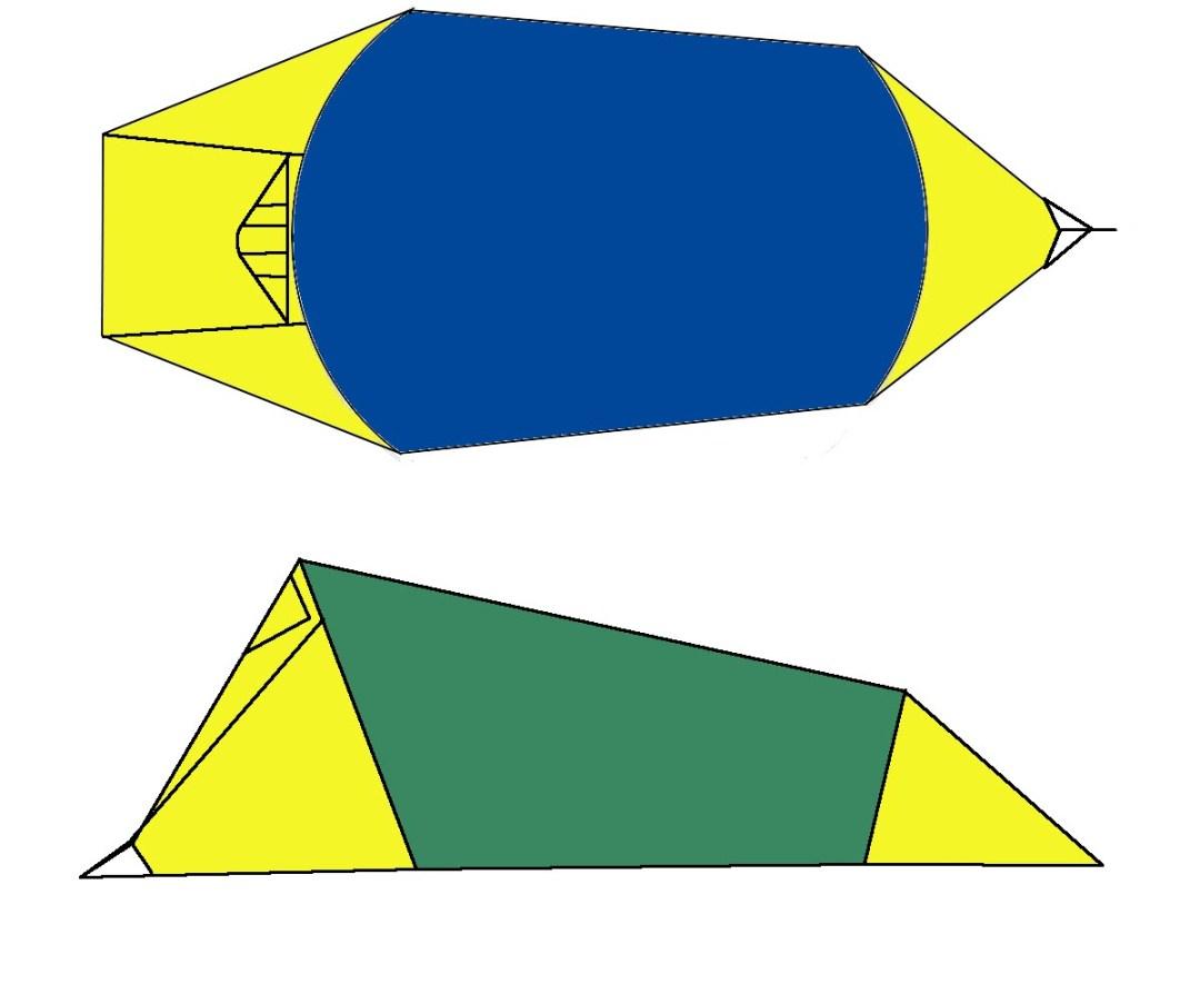 2 person 4 season tent diagram warmlite