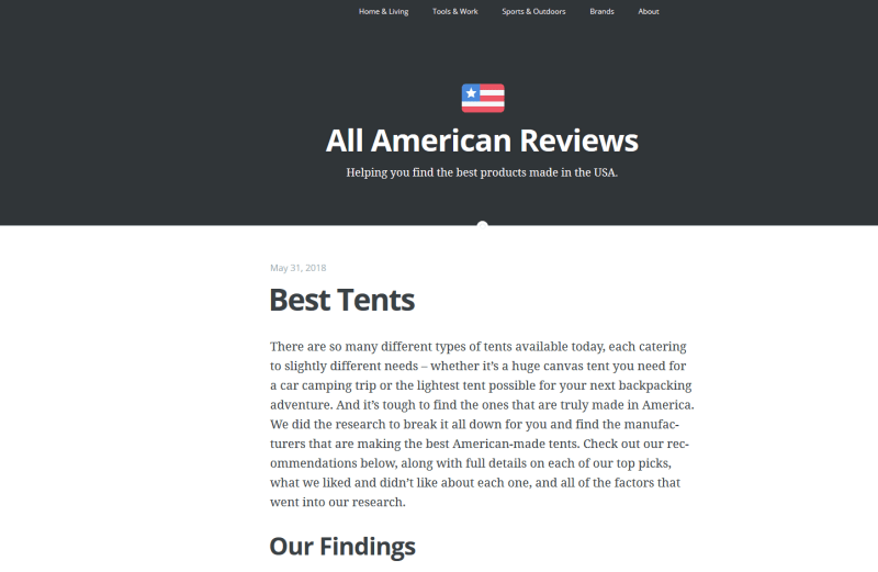 all american reviews