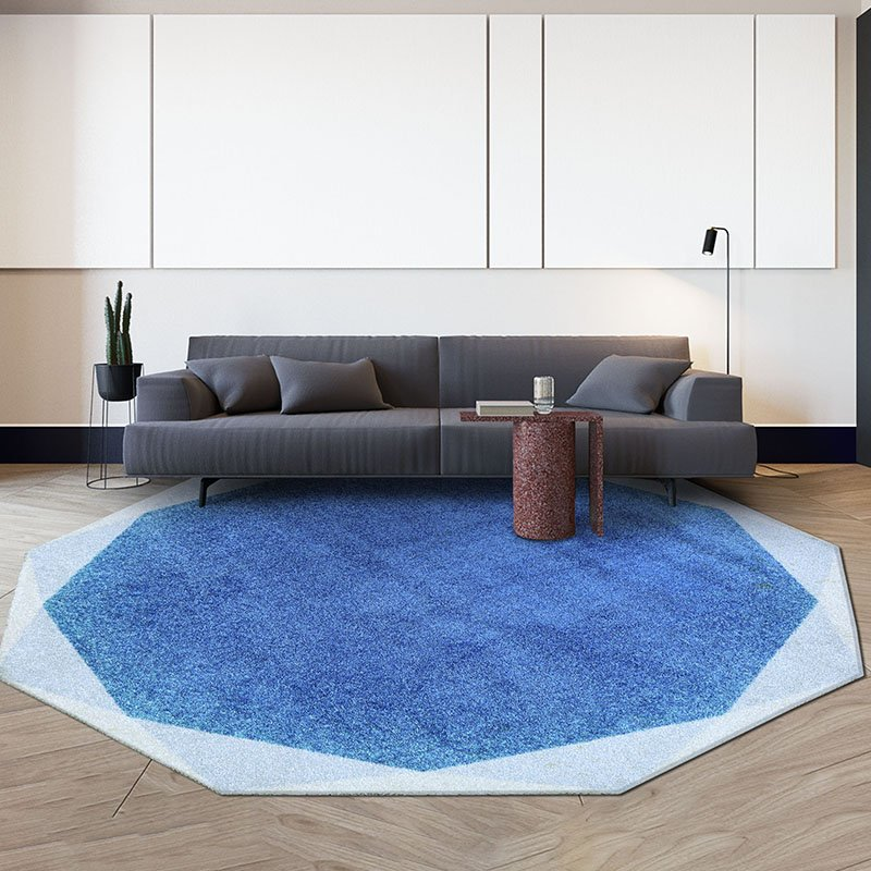 Warmly Home Round Area Rugs