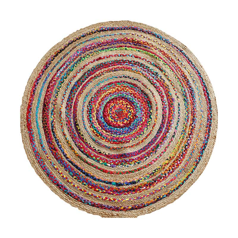 Hand Made Roung Area Rugs