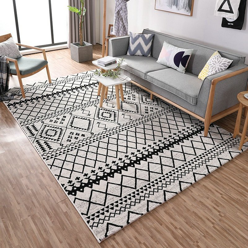 North Euro Simple Style Area Rug