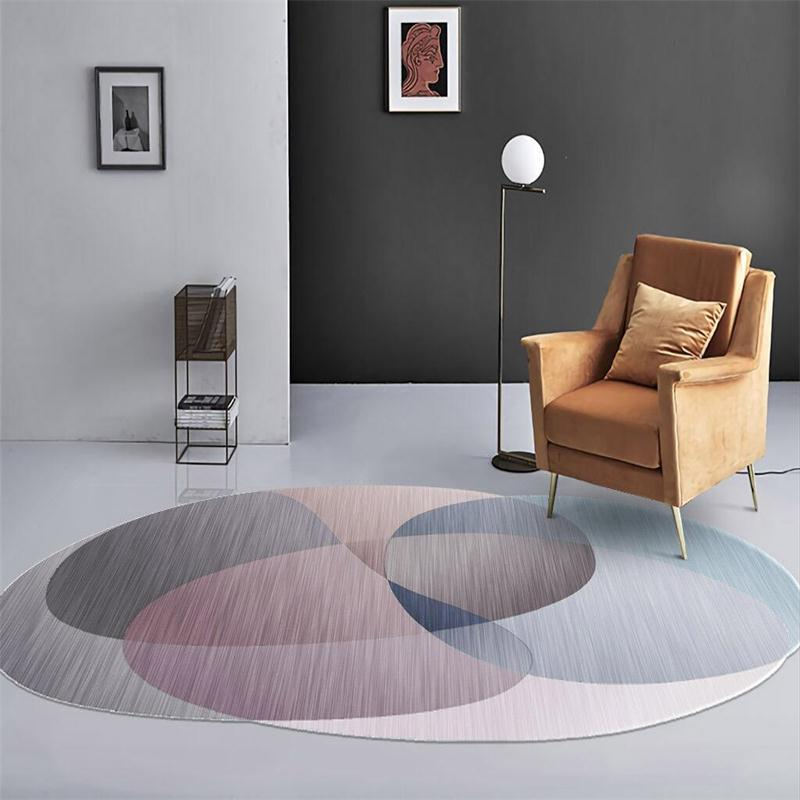 Irregular Polygon Modern Area Rug