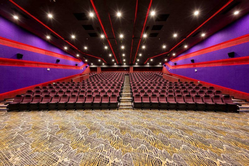 carpet used in the cinema