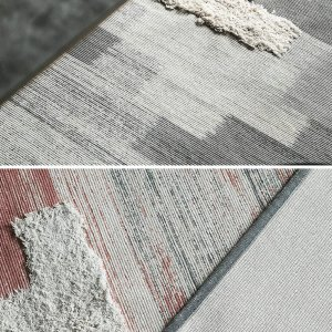 Gradient Color Tufted Area Rugs