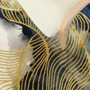 Golden Stripe Woven Dream Rugs