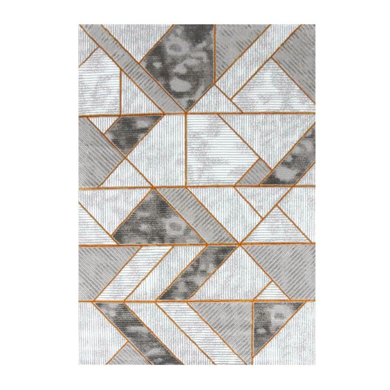 Geometric Design Art Deco Rug