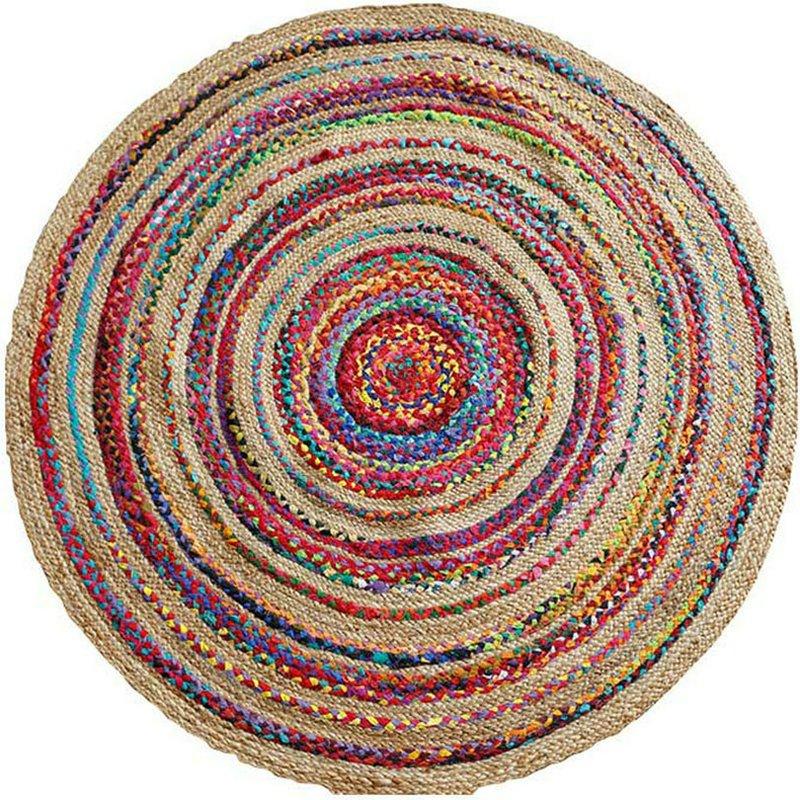 Handmade Round Area Rugs